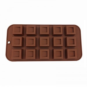 Venta al por mayor Custom Silicone Chocolate Moulds